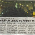 Article on Romulans, Vulcans and Klingons