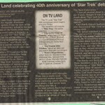 Star Trek 40th Anniversary Article part I