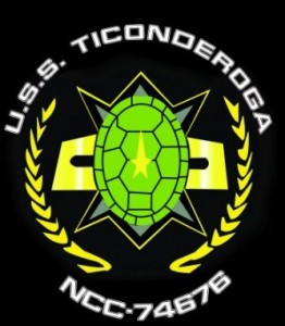 Black and Gold Turtle Shell Logo