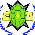 Blue Turtle Shell Ticonderoga Logo