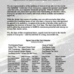 The Enterprise Project open letter.