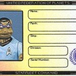 Donatello's Ticonderoga membership ID by Lt. (j.g.) Kenway Miller