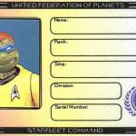 Leonardo's Ticonderoga membership ID by Lt. (j.g.) Kenway Miller