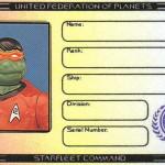 Michaelangelo's Ticonderoga membership ID by Lt. (j.g.) Kenway Miller