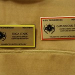 USS Ticonderoga name badges