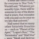 Salt Lake Tribune 50th Star Trek article pg 3