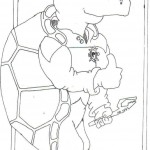 Ticonderoga Coloring Page Pt 2 by Brad Jacobs